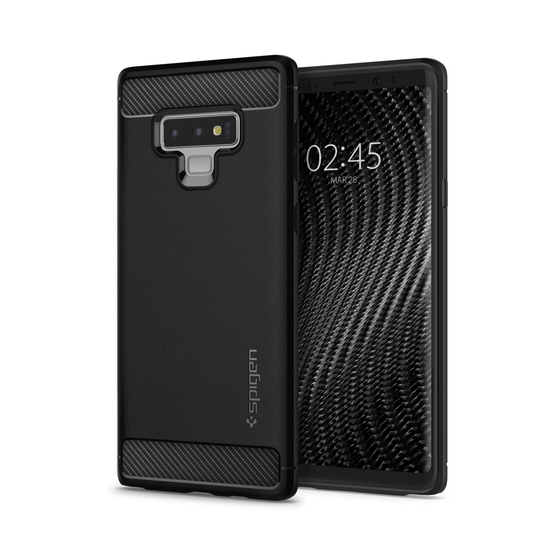 Ochranný kryt Spigen Rugged Armor pro Samsung Galaxy Note 9, černý