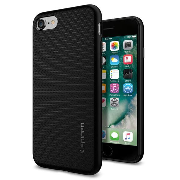 Ochranný kryt Spigen Liquid Air pro Apple iPhone 8/7, černý