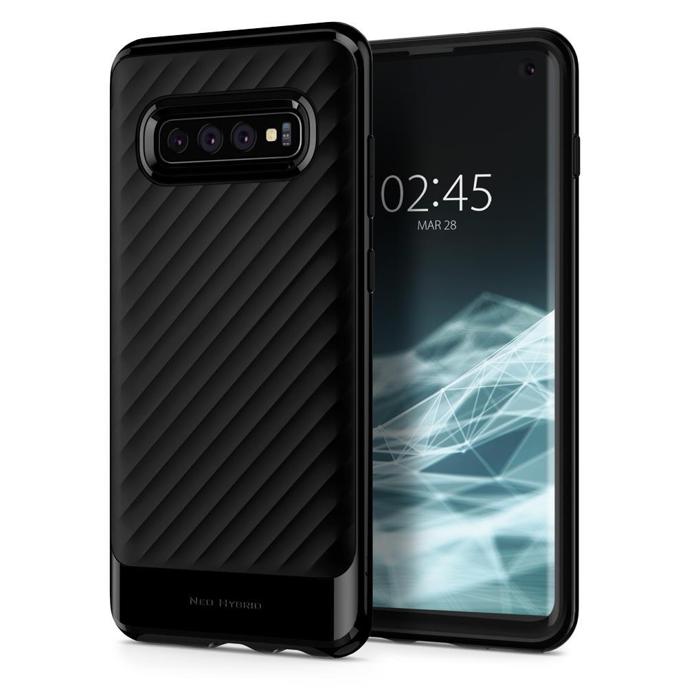 Ochranný kryt Spigen Neo Hybrid pro Samsung Galaxy S10, černý