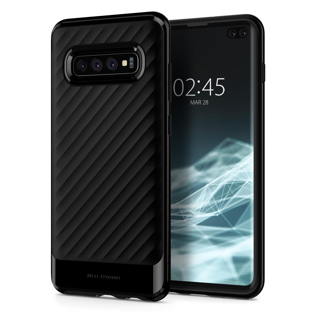 Ochranný kryt Spigen Neo Hybrid pro Samsung Galaxy S10 plus, černý