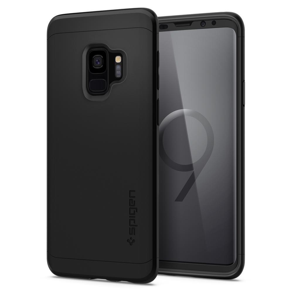 Ochranný kryt Spigen Thin Fit 360 pro Samsung Galaxy S9, černý