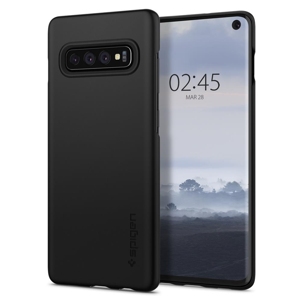 Ochranný kryt Spigen Thin Fit pro Samsung Galaxy S10, černý