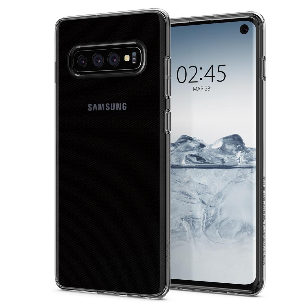 Ochranný kryt Spigen Crystal Flex pro Samsung Galaxy S10, transparentní