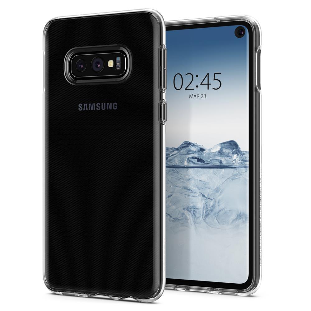Ochranný kryt Spigen Crystal Flex pro Samsung Galaxy S10e, transparentní