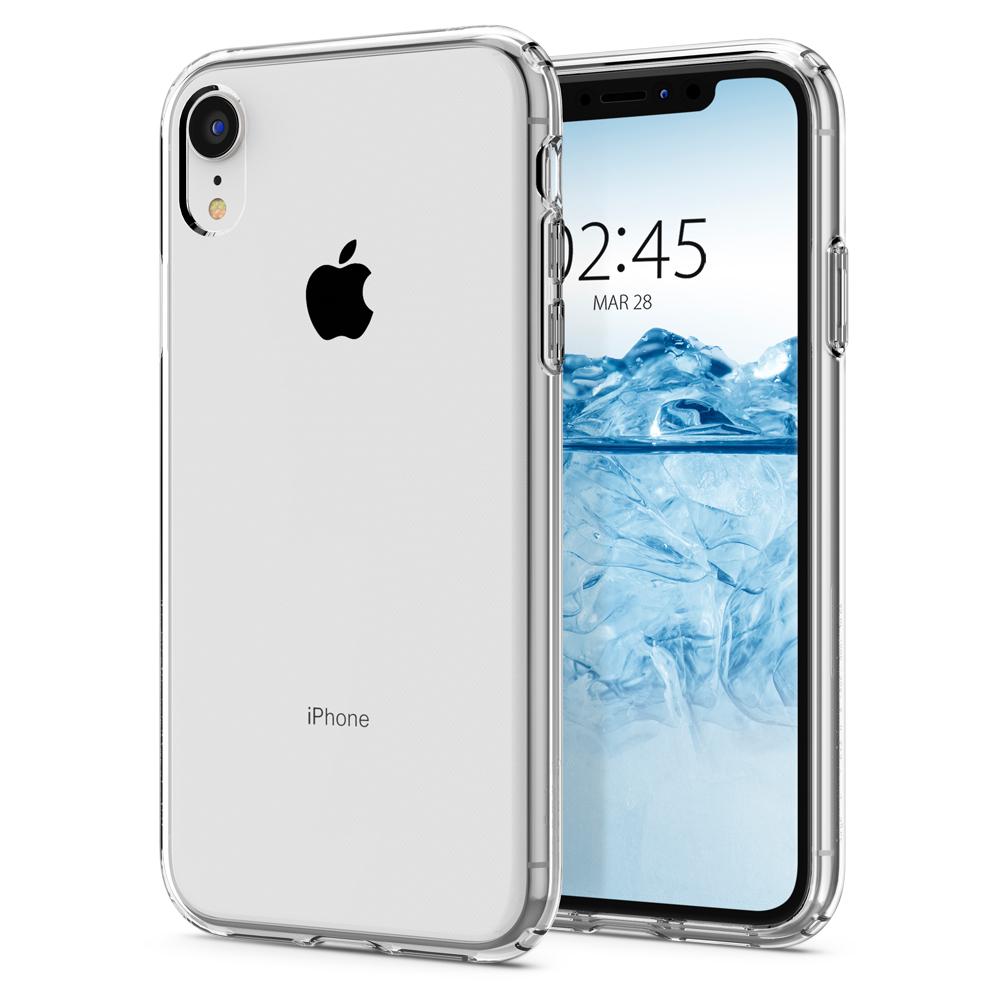 Ochranný kryt Spigen Liquid Crystal pro Apple iPhone XR, transparentní