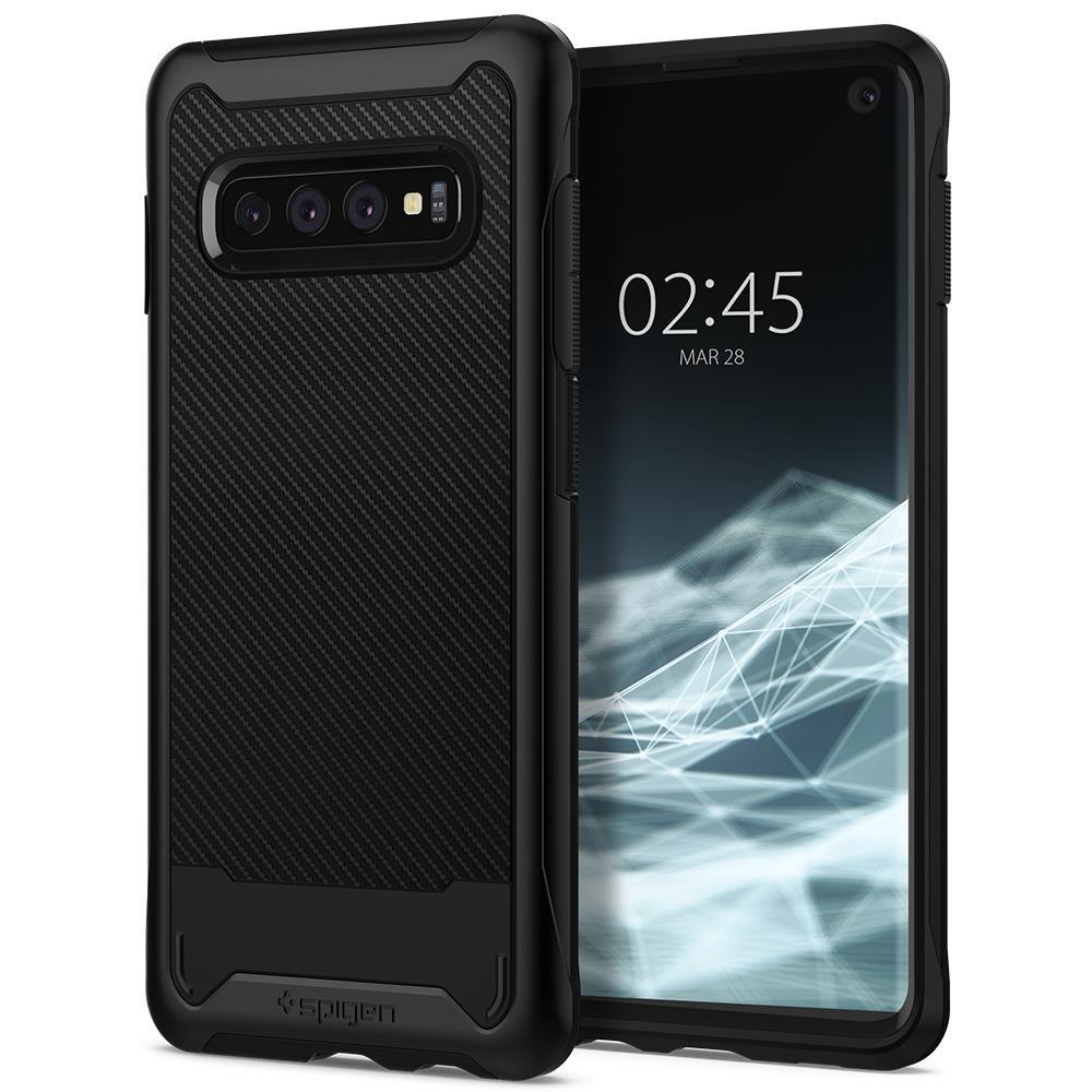 Ochranný kryt Spigen Hybrid NX pro Samsung Galaxy S10 plus, černý