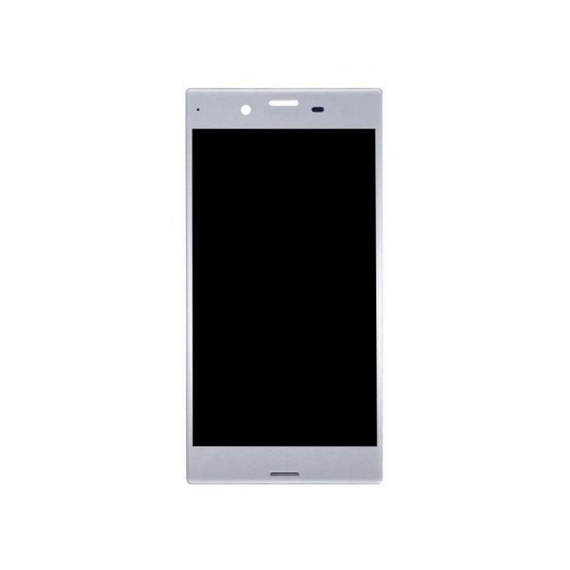 LCD + dotyková deska pro Sony Xperia XZ, silver OEM