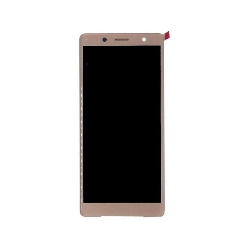 LCD + dotyková deska pro Sony Xperia XZ2 Compact, pink OEM