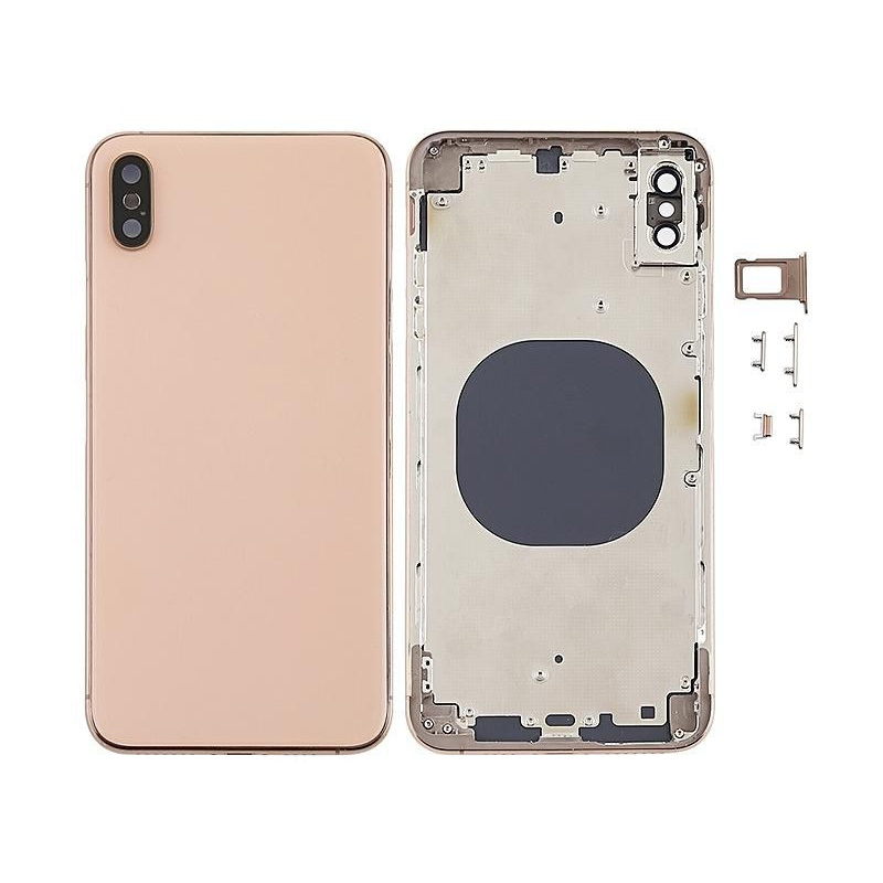 Zadní kryt baterie Back Cover Assembled na Apple iPhone XS Max, gold