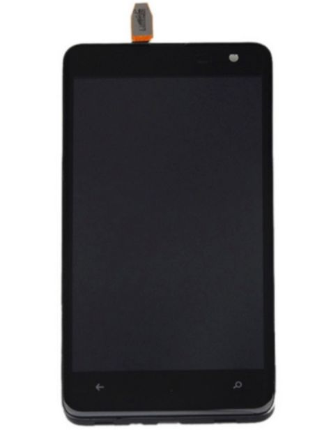 LCD + dotyk + rámeček pro Nokia Lumia 625, black OEM