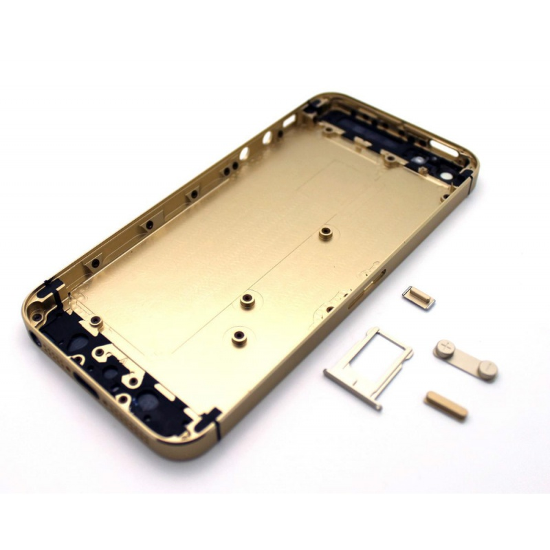 Kryt baterie Back Cover na Apple iPhone 5S, gold