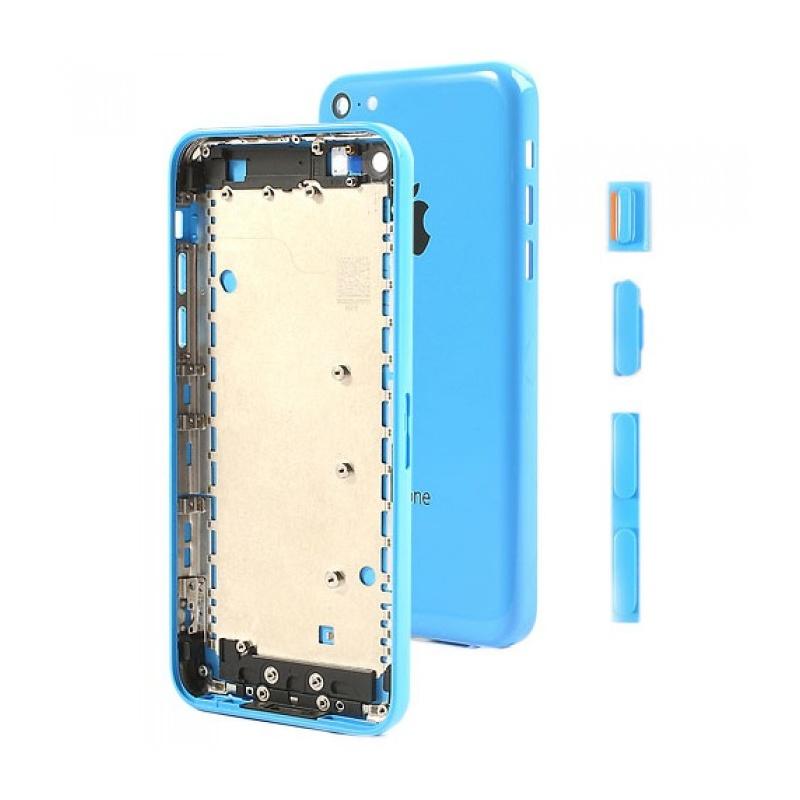 Kryt baterie Back Cover na Apple iPhone 5C, blue