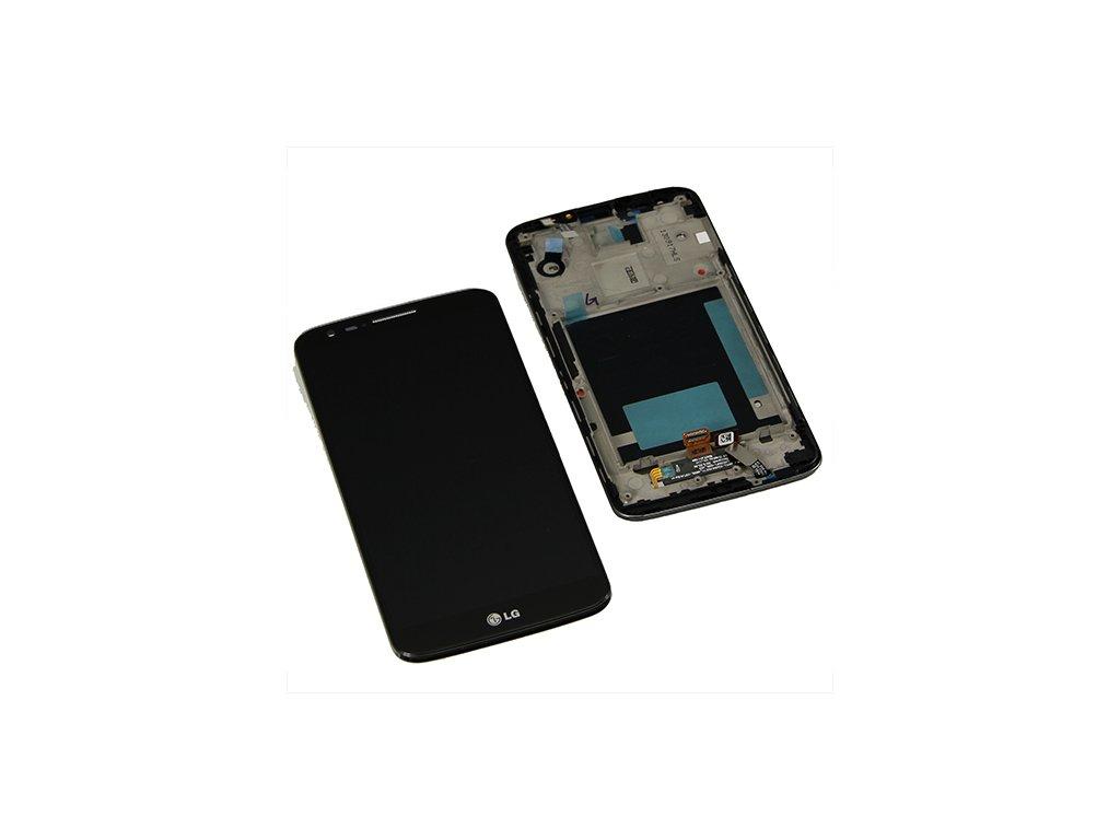 LCD + dotyková deska pro LG Optimus G2, black OEM