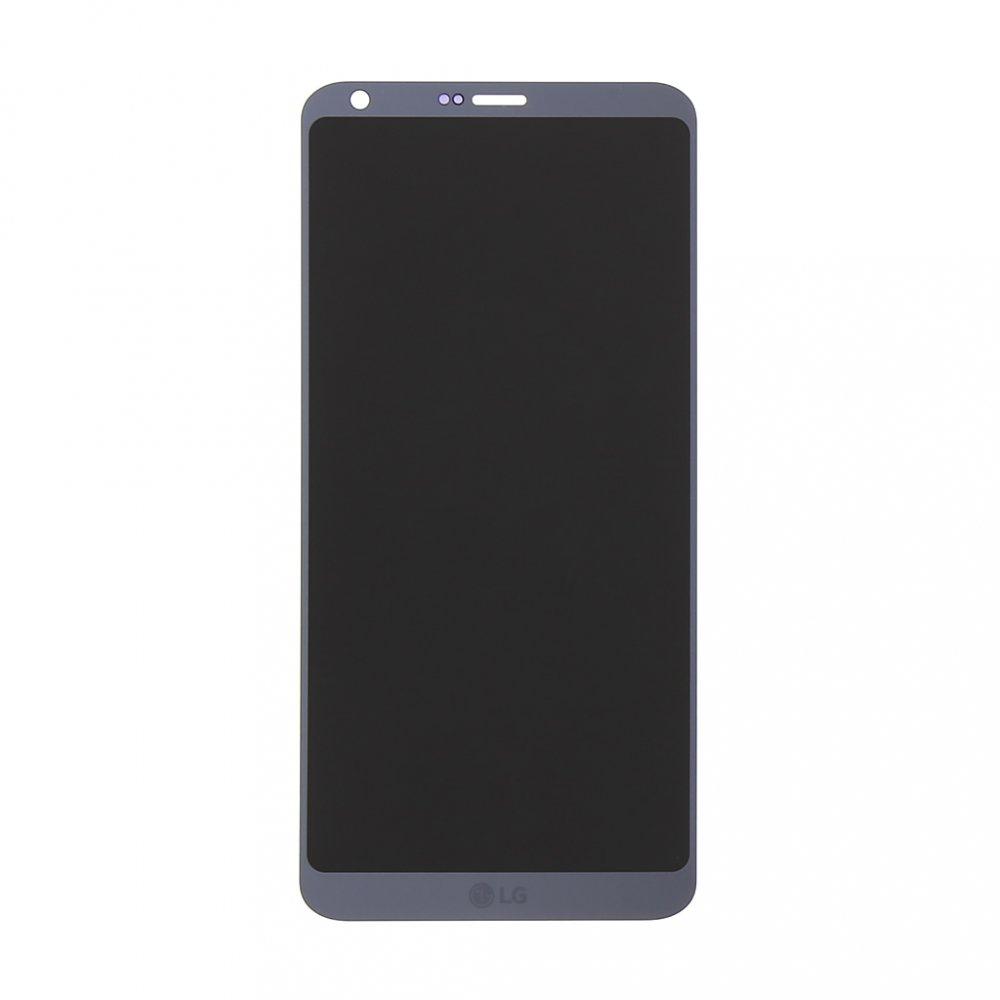 LCD + dotyková deska pro LG G6, silver OEM