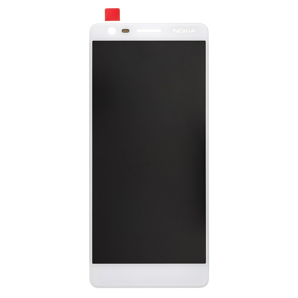 LCD + dotyková deska pro Nokia 3.1, white OEM