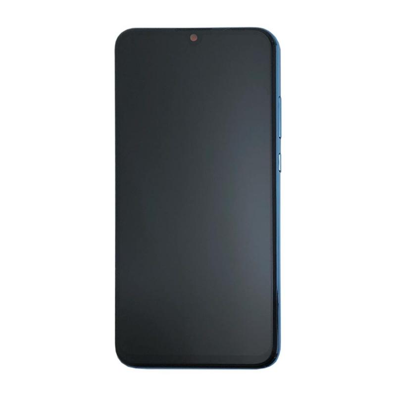 LCD + dotyk + rámeček + baterie pro Honor 10 Lite, Sapphire Blue (Service Pack)