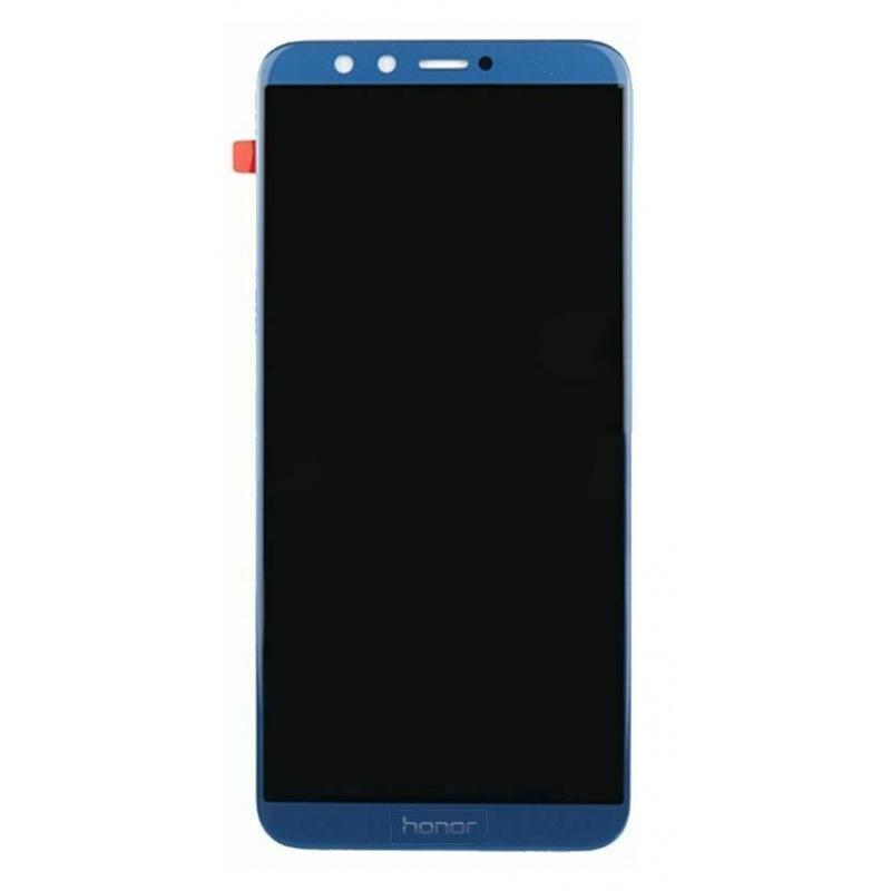 LCD + dotyk + rámeček + baterie pro Honor 9 Lite, blue (Service Pack)