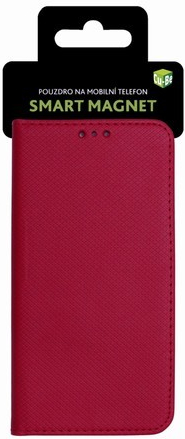 Cu-Be Smart Magnet flipové pouzdro Samsung Galaxy A40 red