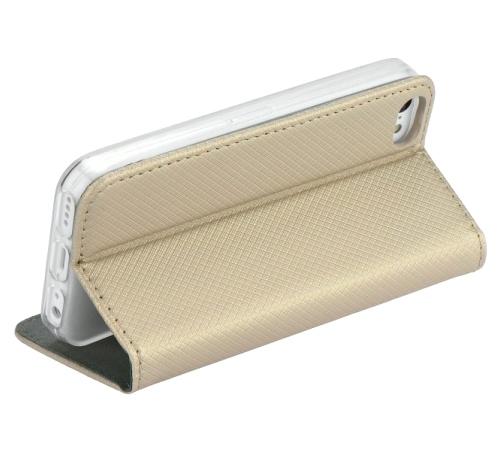 Smart Magnet flipové pouzdro pro Samsung Galaxy A70, zlaté