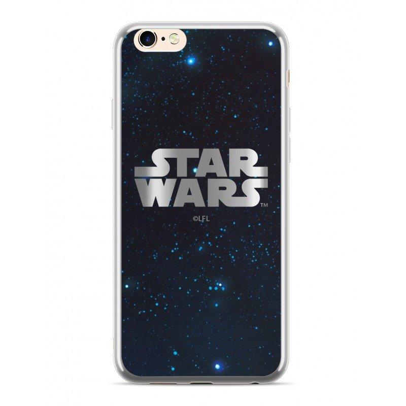 Zadní kryt Star Wars Luxury Chrome 003 pro Apple iPhone XS Max, silver