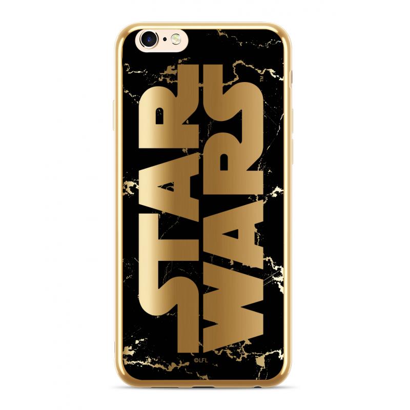 Zadní kryt Star Wars Luxury Chrome 007 pro Apple iPhone XS Max, gold