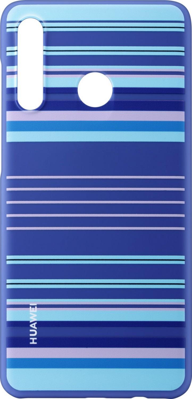Original Protective Kryt pro Huawei P30 Lite, Blue Lines