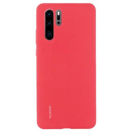 Huawei Original Silikonové pouzdro pro Huawei P30 Pro, Red