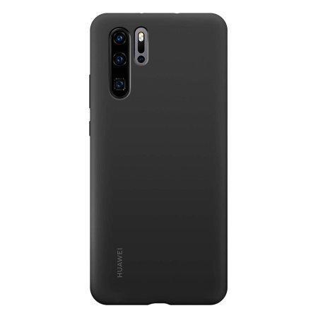 Huawei Original silikonové pouzdro pro Huawei P30 Pro, black