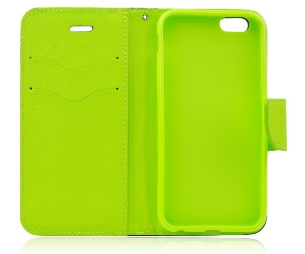 Fancy Diary flipové pouzdro pro Xiaomi Redmi Note 7, modro-limetkové