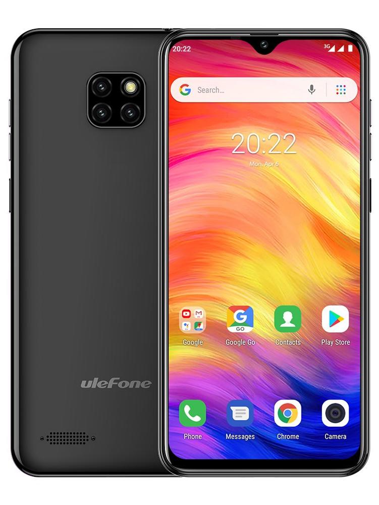 UleFone Note 7 1GB/16GB černá