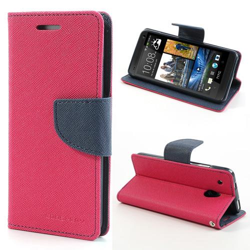 Fancy Diary flipové pouzdro pro SAMSUNG GALAXY J4+, růžovo-modré