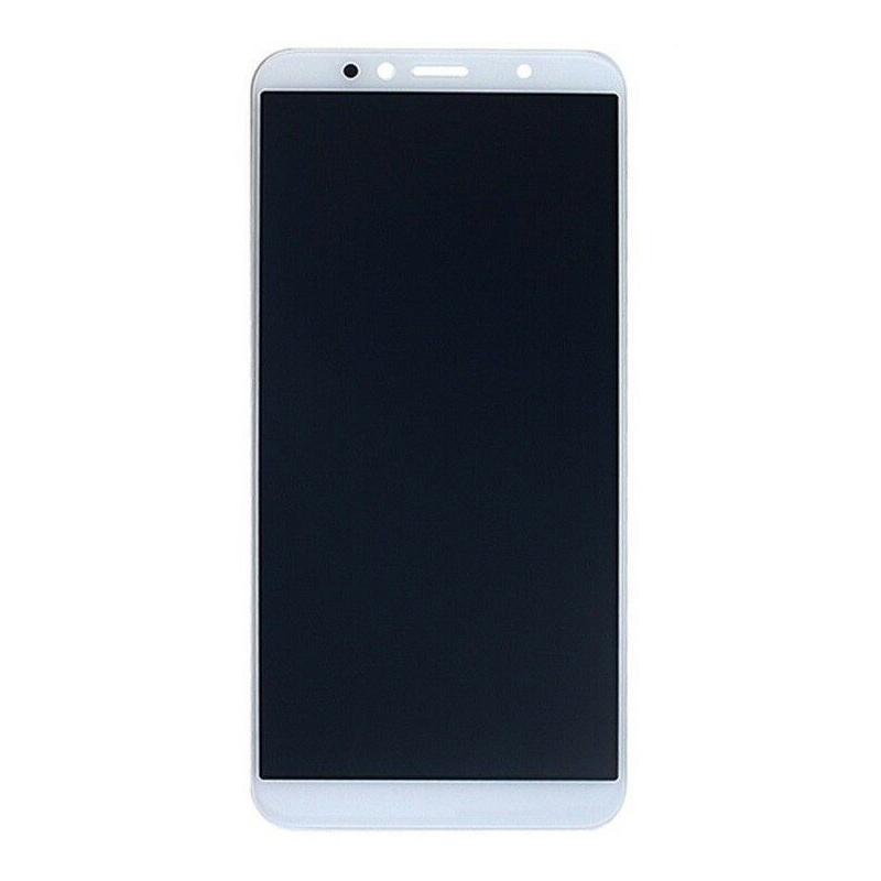 LCD + dotyk + rámeček + baterie pro Huawei Y6 2018, white (Service Pack)