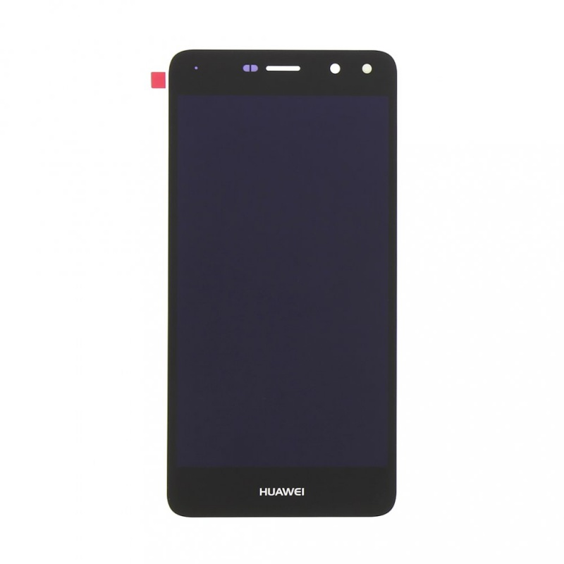 LCD + dotyk + rámeček + baterie pro Huawei Y6 2017, black (Service Pack)