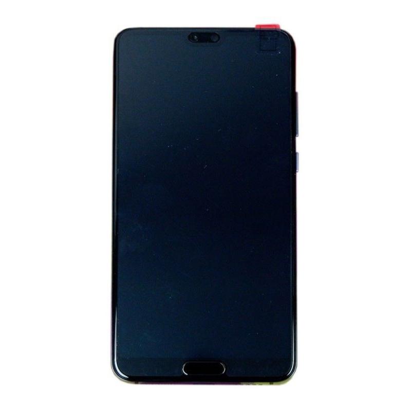 LCD + dotyk + rámeček + baterie pro Huawei P20 Pro, twilight (Service Pack)