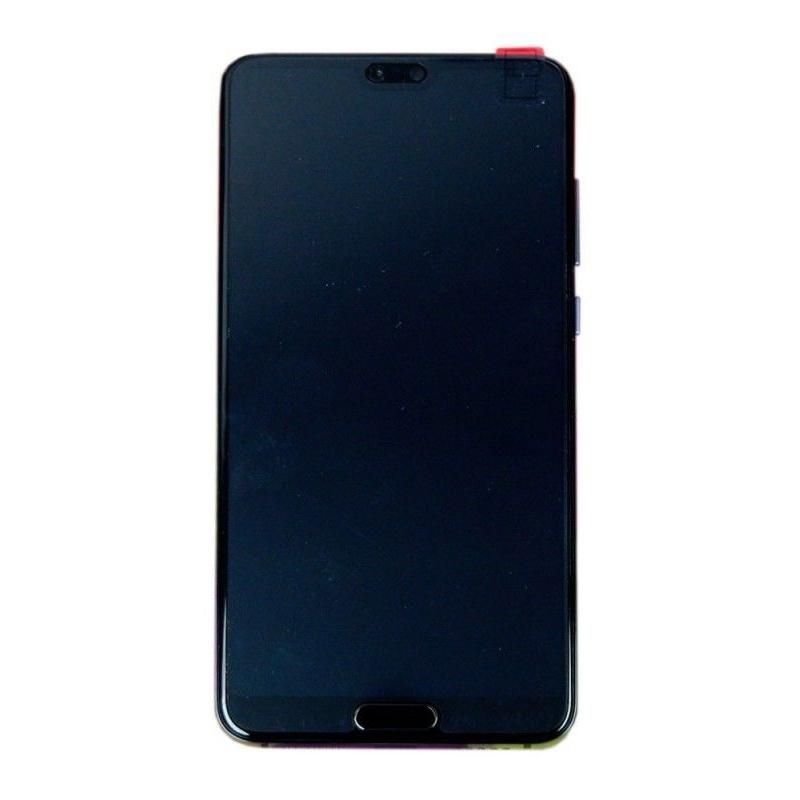 LCD + dotyk + rámeček + baterie pro Huawei P20 Pro, blue (Service Pack)
