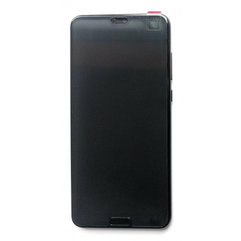 LCD + dotyk + rámeček + baterie pro Huawei P20 Pro, black (Service Pack)