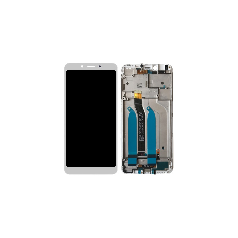 LCD + dotyk + rámeček pro Xiaomi Redmi 6 / 6A, white OEM