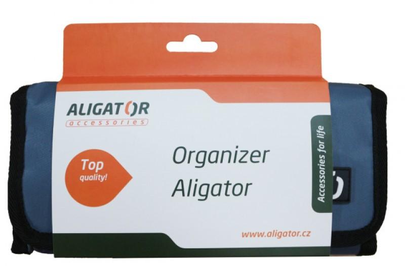 Cestovní organizér ALIGATOR šedý
