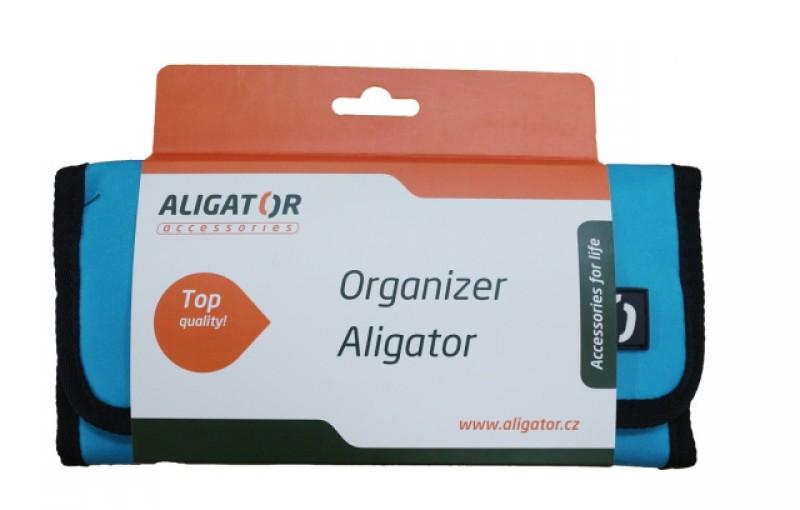 Cestovní organizér ALIGATOR modrý