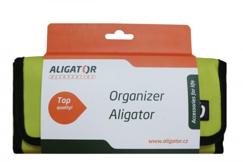 Cestovní organizér ALIGATOR zelený