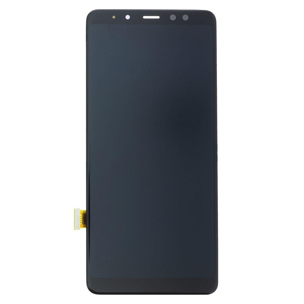 LCD + dotyk pro Samsung Galaxy A80, black (Service Pack)