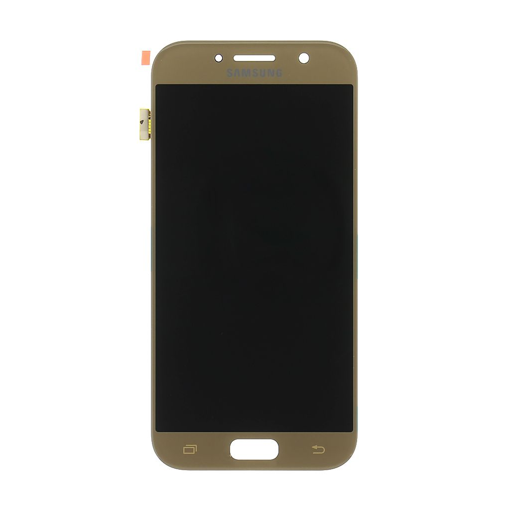 LCD + dotyk pro Samsung Galaxy A80, gold (Service Pack)