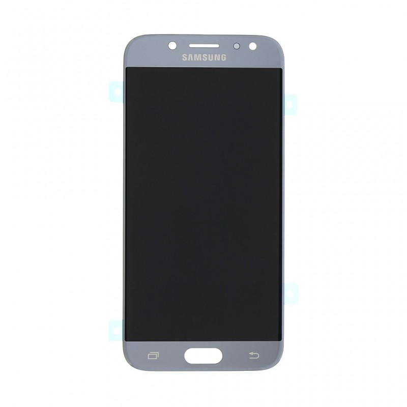 LCD + dotyk pro Samsung Galaxy A80, silver (Service Pack)