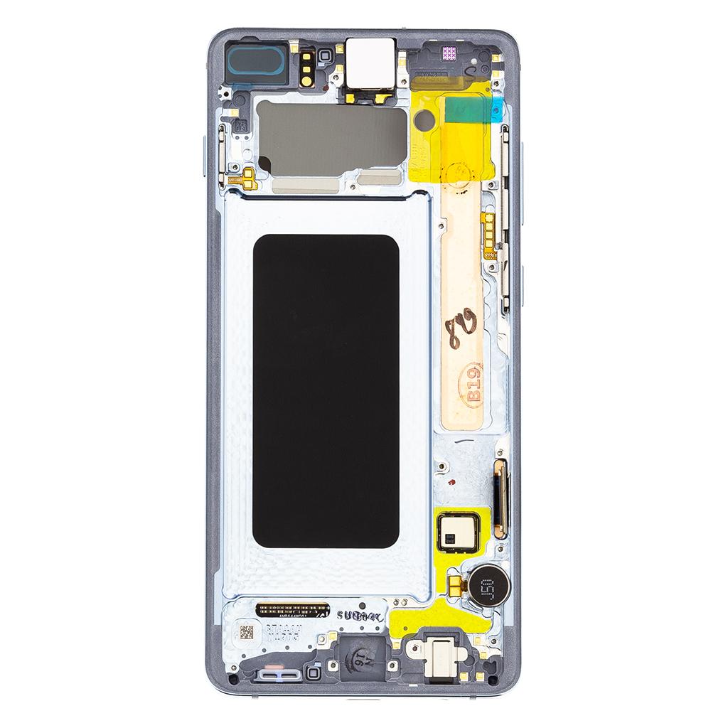 LCD + dotyková deska pro Samsung Galaxy S10+, blue (Service Pack)