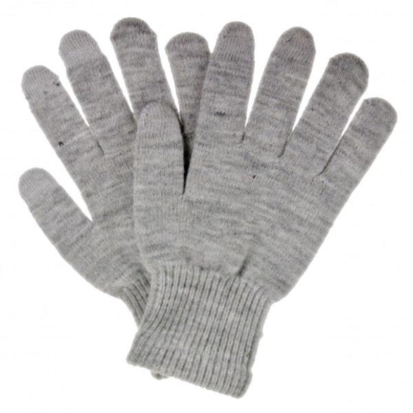 Unisex rukavice na dotykový displej, šedé