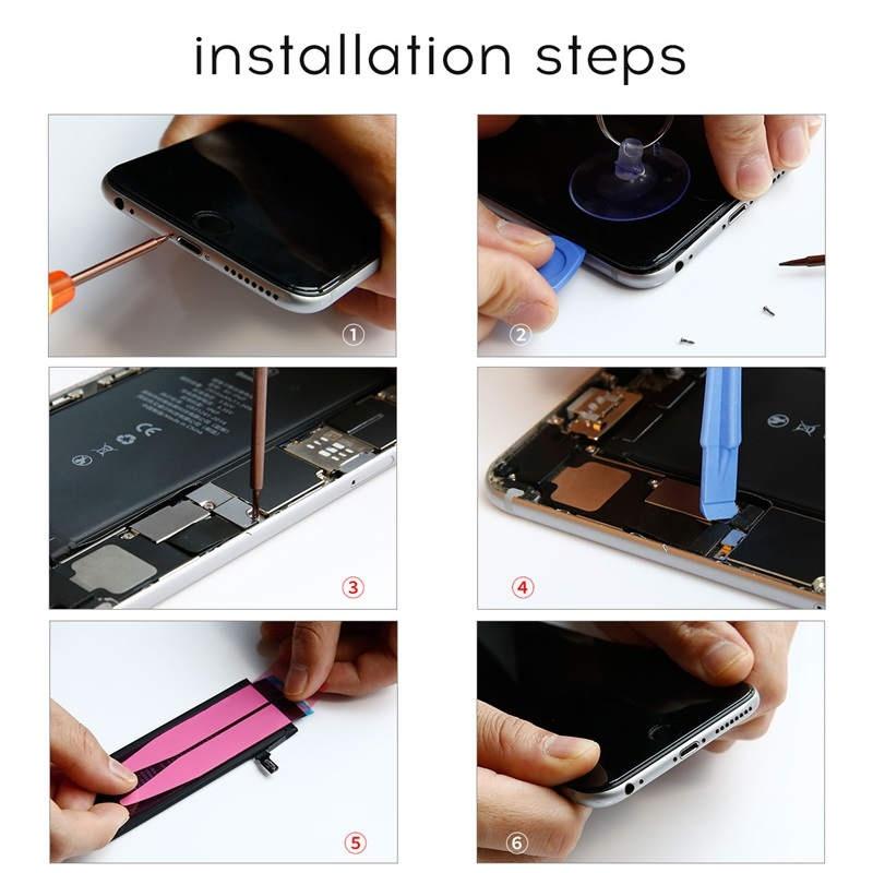 Nářadí pro výměnu baterie iPhone 8