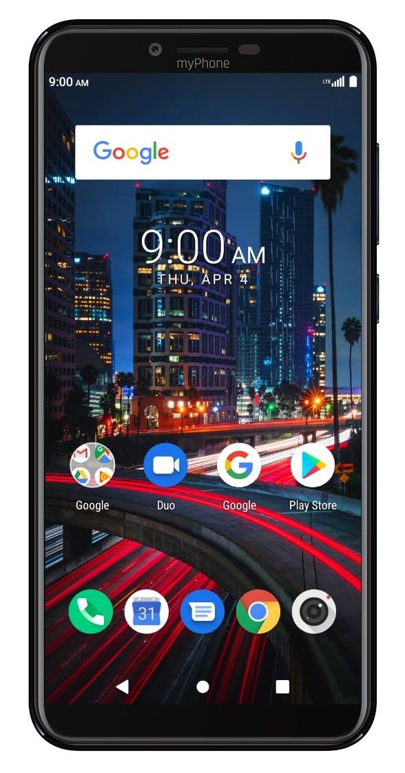 myPhone City 2 4GB/64GB černý