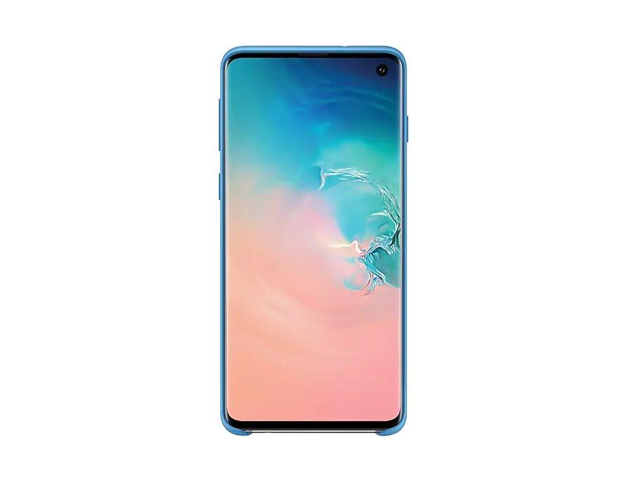 Ochranný kryt Silicone Cover pro Samsung Galaxy S10, modrý