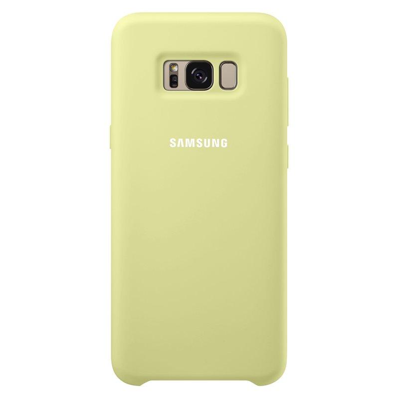 Ochranný kryt Silicone Cover pro Samsung Galaxy S8 Plus, zelený