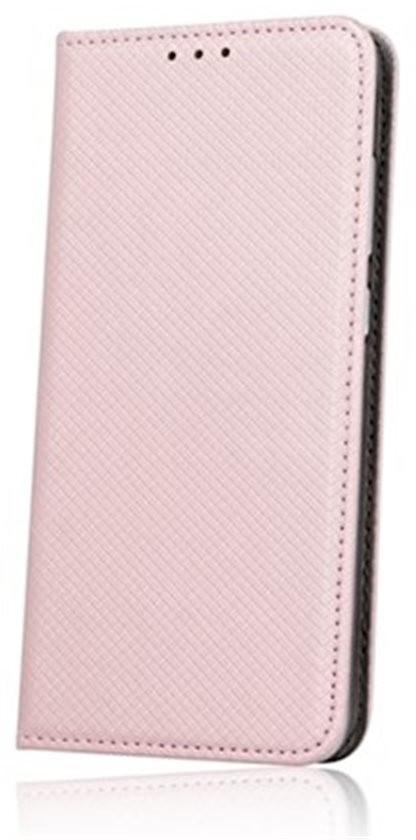 Cu-Be Smart Magnet flipové pouzdro pro Xiaomi Redmi Note 7 rose gold
